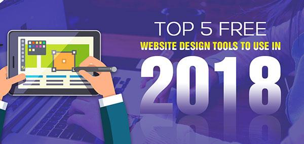 5 ابزار برتر رایگان طراحی سایت در سال 2018