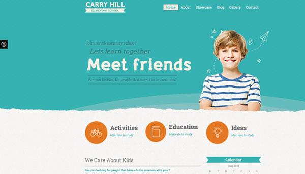 طراحی سایت مدارس
