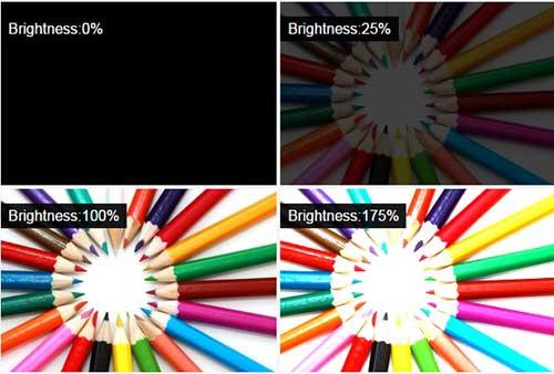 میزان روشنایی در طراحی وب سایت