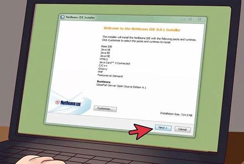 نرم افزار های لازم را نصب کنید
