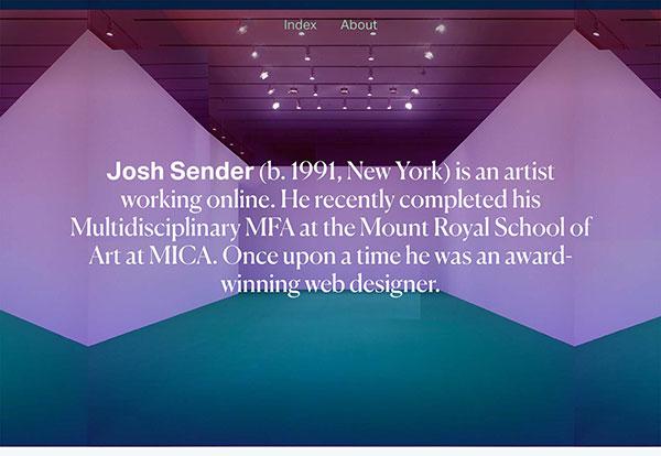 JOSH SENDER