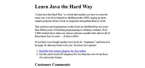 کتاب آموزش زبان برنامه نویسی جاوا