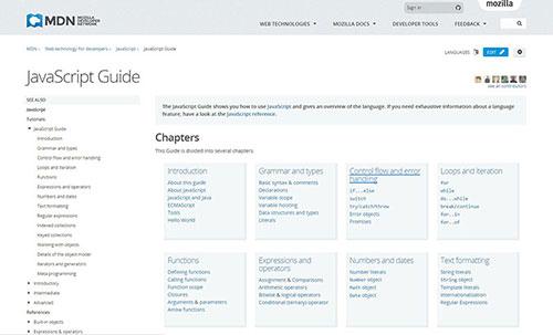 Mozilla's JavaScript Guide