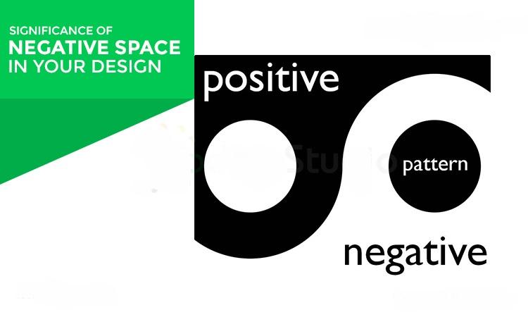 تاثیر فاصله منفی در طراحی وب سایت