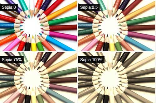 میزان سپیا در طراحی وب سایت