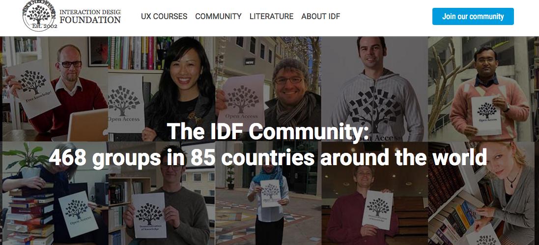 انجمن طراحی وبسایت IDF