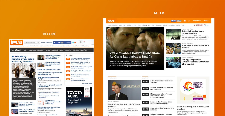 طراحی وب سایت مجدد توسط مجارستانی ها